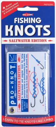 PKFS200 Pro-Knot Saltwater Fishing Knot Cards