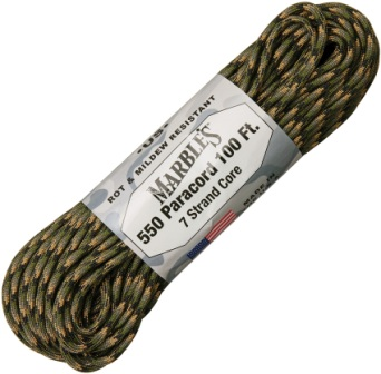 RG1206H Marbles Parachute Cord Forest Camo