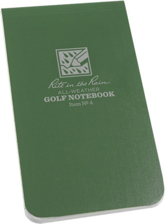 RITR4 Rite in the Rain Waterproof Golf Notebook