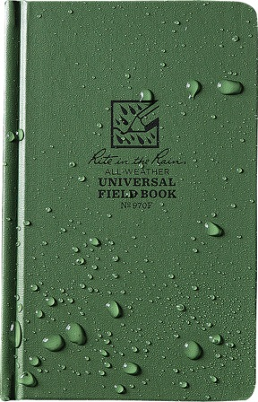 RITR970F Rite in the Rain Field Bound Book Green