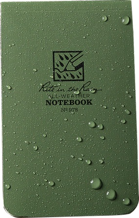 RITR978 Rite in the Rain Top Bound Memo Notebook
