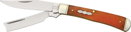RR073 Rough Rider Razor Trapper Pocket Knife