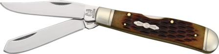 RR1069 Rough Rider Lockback Trapper Pocket Knife
