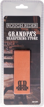 RR1882 Rough Rider Knife Sharpening Stone 400 Grit