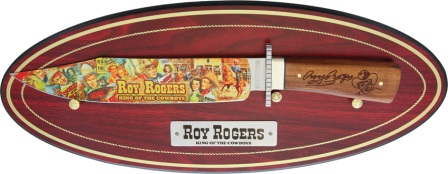RR1883 Rough Rider Roy Rogers Bowie Knife