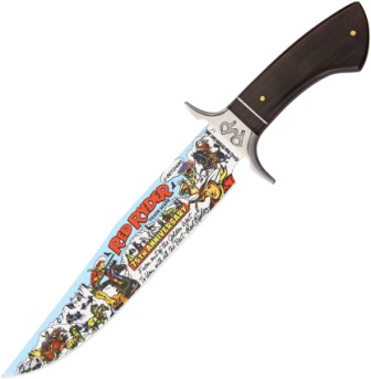RR3 RED RYDER 75th Annversary Red Ryder Bowie Knife