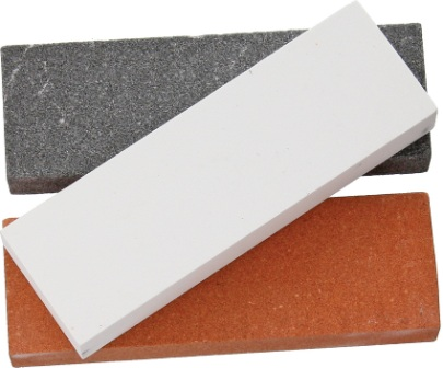 RR3000 Rough Rider 3 Piece Knife Sharpening Stone Set