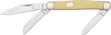 RR602 Rough Rider Old Yellow Stockman Pocket Knife