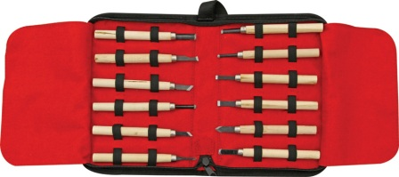 RR641 Rough Rider Wood Carving Knife Set