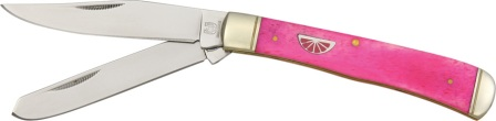 RR830 Rough Rider Trapper - Pink Lemonade Series Pocket Knife
