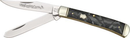RR966 Rough Rider Midnight Series Trapper Pocket Knife