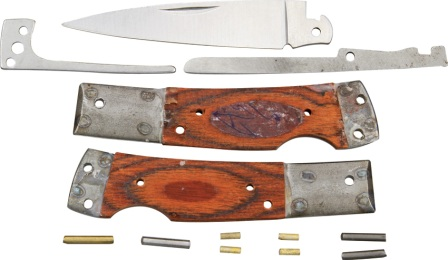 RRCS6 Rough Rider Custom Shop Kit Lockback Pocket Knife
