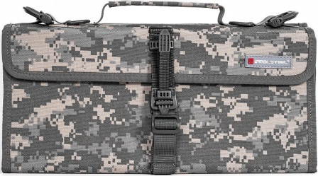 RSRS043 Real Steel Pilgrim 22 Knife Bag Camo