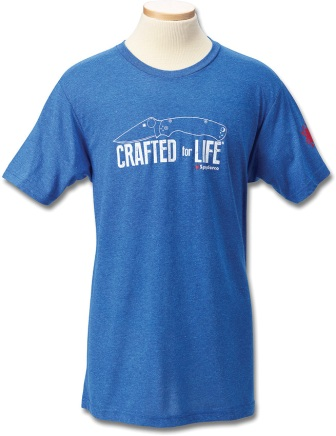 SCTSMCFLXL Spyderco Mens T-Shirt Craft For Life XL