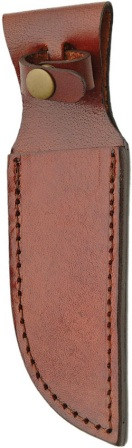 SH1161 Brown Leather Fixed Blade Knife Sheath 5 Inch
