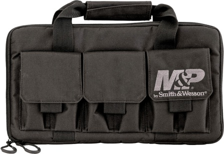 SWMP110029 Smith & Wesson Knives Pro Tac Handgun Case Double