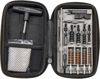 SWMP110176 Smith & Wesson Knives Compact Pistol Cleaning Kit