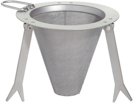 VR474 Vargo Travel Coffee Filter Titanium