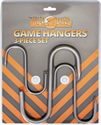 WB1024 Wild Boar Knives Game Hangers 3pc
