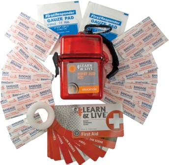 WG02747 UST Learn & Live First Aid Kit