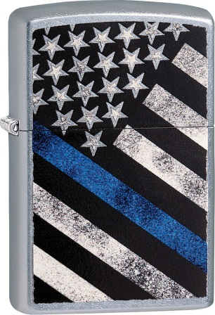 ZO00010 Zippo Lighters Blue Line Lighter