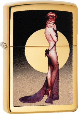ZO01429 Zippo Lighters Olivia De Berardinis Lighter