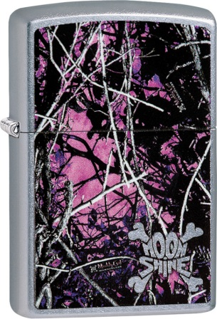 ZO02147 Zippo Lighters Moon Shine Muddy Girl Lighter