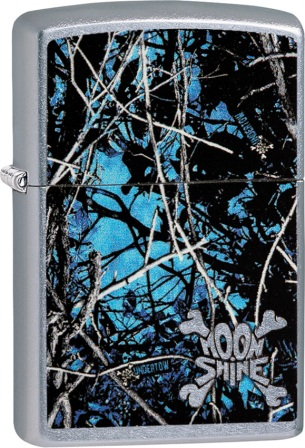 ZO02148 Zippo Lighters Moon Shine Undertow Lighter