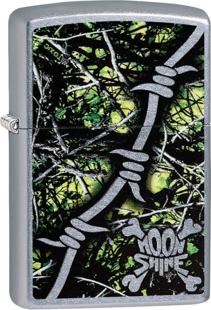ZO02149 Zippo Lighters Moon Shine Toxic Lighter