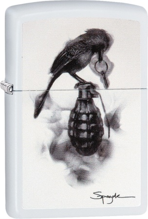 ZO02739 Zippo Lighters Spazuk Lighter