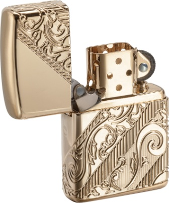 ZO03735 Zippo Lighters 2018 Lighter of the Year Gold Lighter