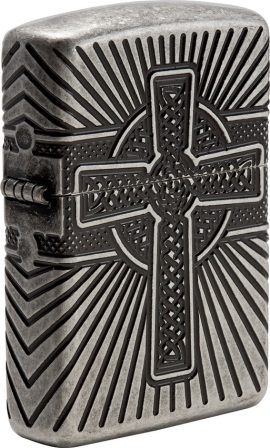 ZO04653 Zippo Lighters Celtic Cross Lighter