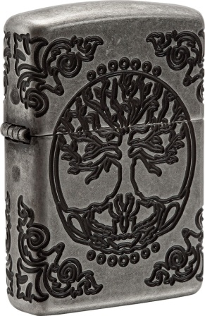 ZO04905 Zippo Lighters Tree Of Life Lighter