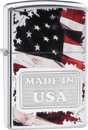 ZO05449 Zippo Lighters Made In USA Lighter