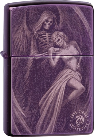 ZO06111 Zippo Lighters Anne Stokes Lighter