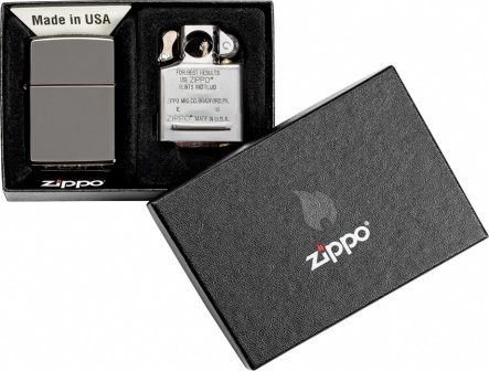 ZO07658 Zippo Lighter and Pipe Insert Combo
