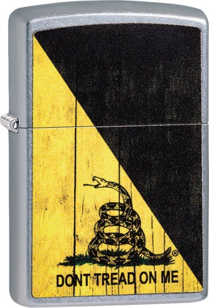 ZO08718 Zippo Dont Tread On Me Lighter