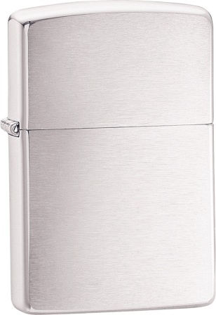 ZO10003 Zippo Lighter Brushed Chrome