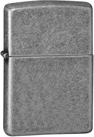 ZO10112 Zippo Lighters Antique Silver Lighter