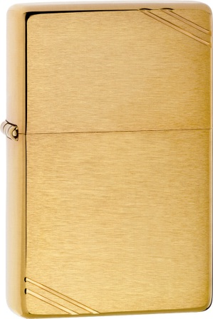 ZO11240 Zippo Lighters Vintage Brass Lighter