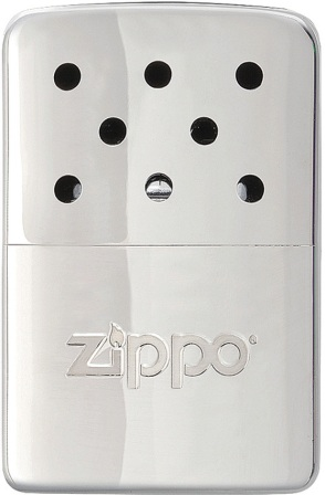 ZO40321 Zippo Lighter Hand Warmer Chrome 6 Hour
