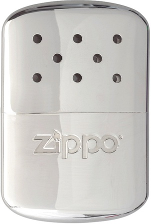 ZO40323 Zippo Lighter Hand Warmer 12 Hour Chrome