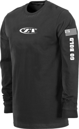 ZT184S Zero Tolerance Knives Long Sleeve T-Shirt Small