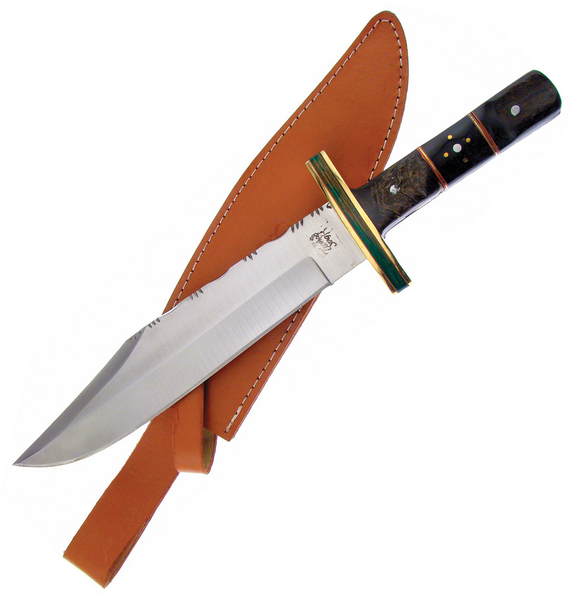 FTS156 Frost Cutlery Trophy Stag Bowie Knife