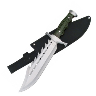 F18171BPW Frost Cutlery Ultimate Warrior Bowie Knife