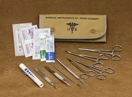 FA80122TAN Elite First Aid Field Surgical Kit