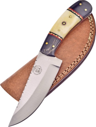 FCW676BHWSB Frost Cutlery Chipaway Red Cloud Hunter Knife White