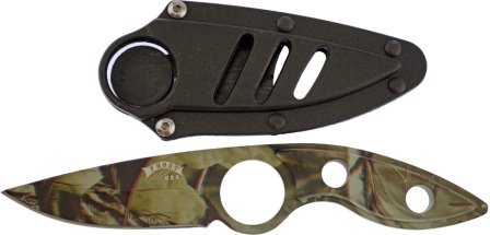 FHK92420CA Frost Cutlery Little Black Talon Knife Camo