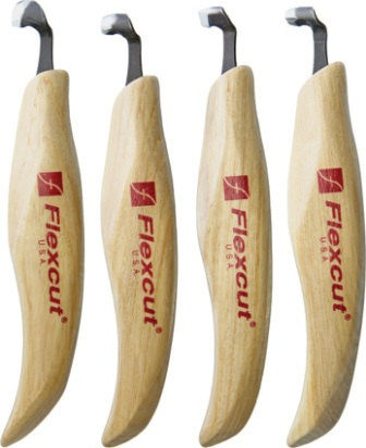 FLEXKNL150 Flexcut Left Handed Scorp Set