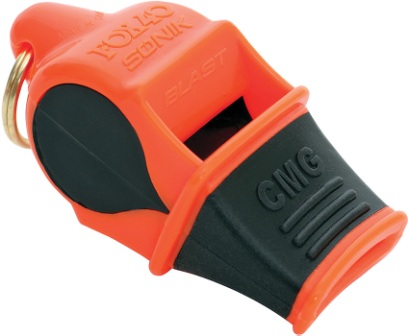 Fox 40 FO8802O Epik Black Cushioned Mouth Grip 115db Safety Whistle